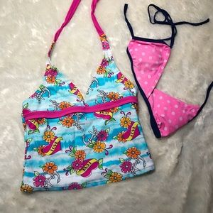 Other - Pre-teen Bikini Tops Girl size 12